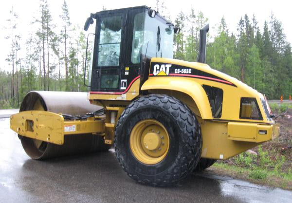 CAT CS 563 ROLLER