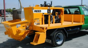 Reed Truck Mounted Concrete Truck
